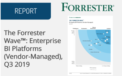 The Forrester Wave™: Enterprise BI Platforms (Vendor-Managed), Q3 2019