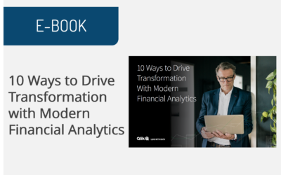 10 Ways to Drive Transformation with Modern Financial Analytics