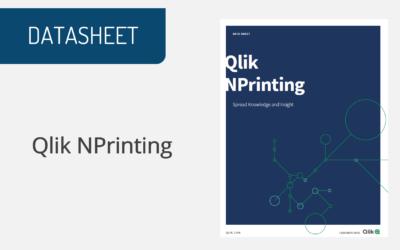 Qlik NPrinting Datasheet