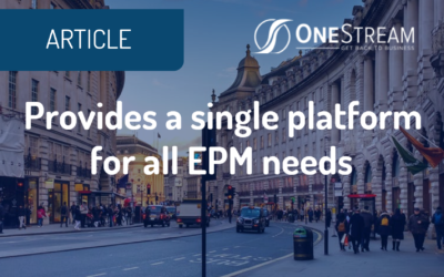 Decision Inc., OneStream provide EPM insights