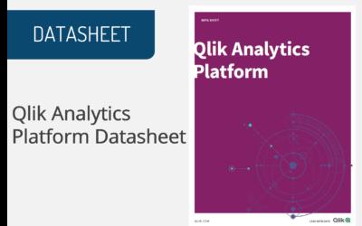 Qlik Analytics Platform: Datasheet