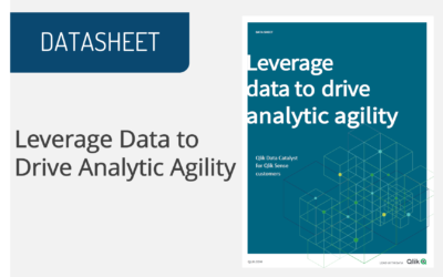 Leverage Data to Drive Analytic Agility